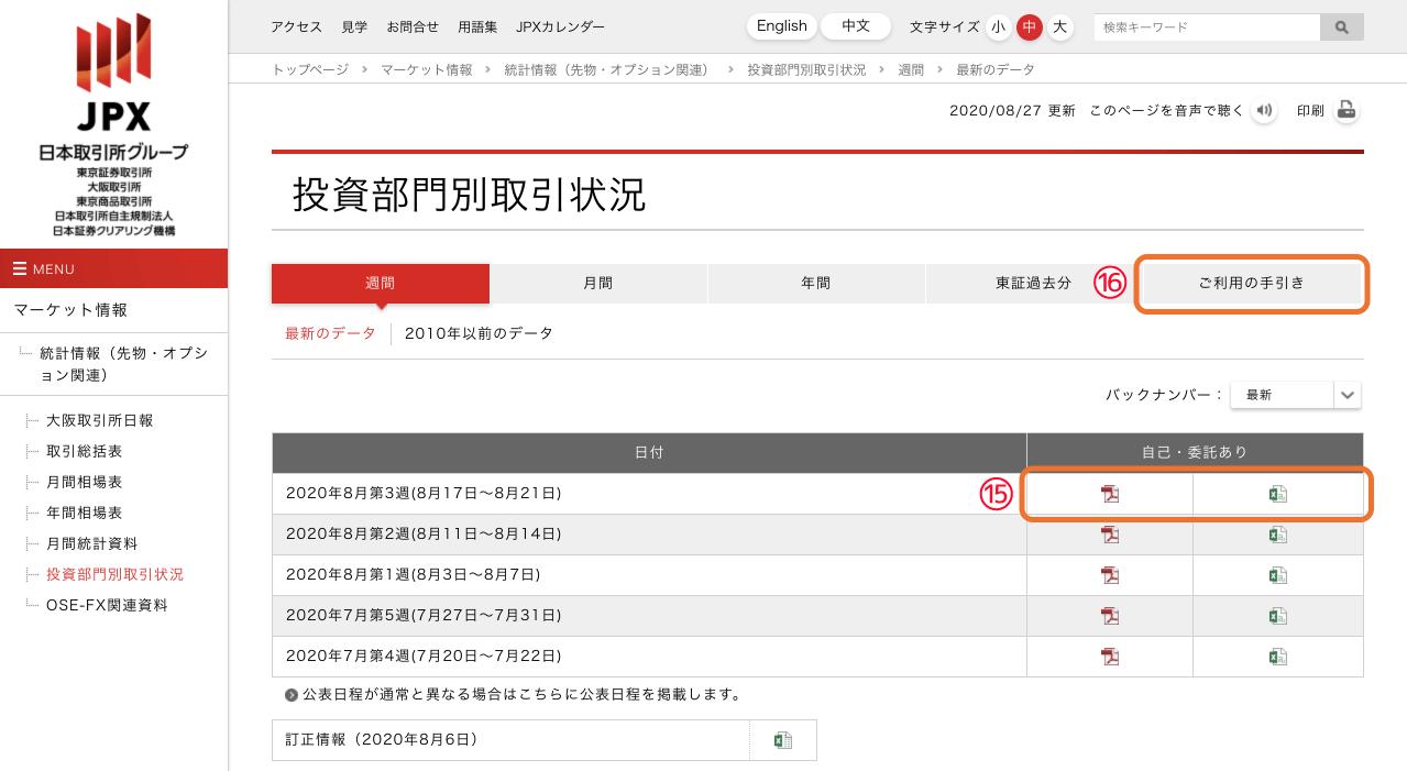 JPXTOCOMダウンロード